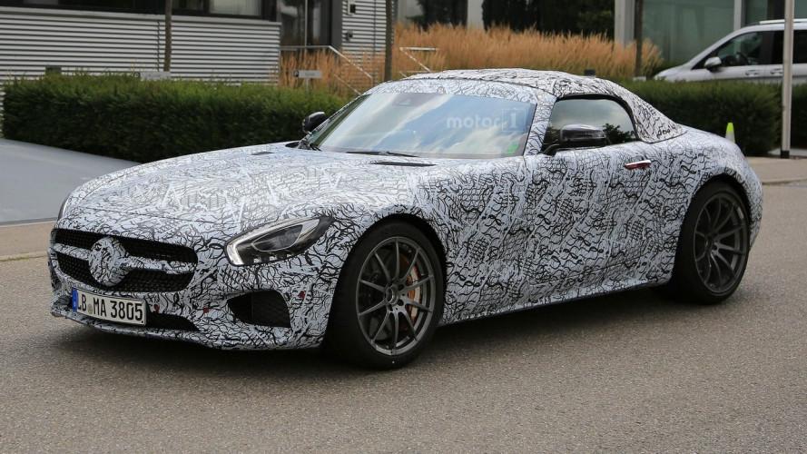 Mercedes-AMG GT C Roadster, la sportiva