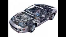 Nissan 300ZX, le foto storiche