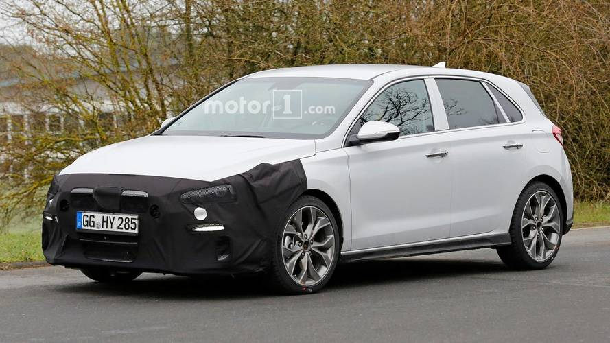 Hyundai i30 N-Line Makes Spy Photo Debut