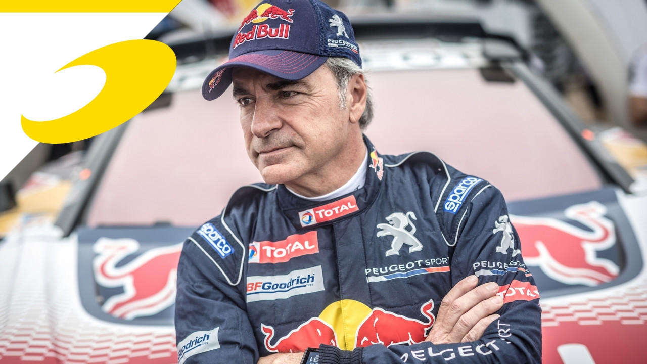 [Copertina] - La Dakar delle leggende, Carlos Sainz