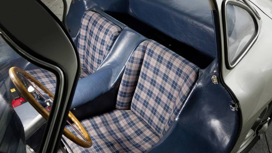 Mercedes Makes Plaid Fashionable Again With New 300 SL Upholstery