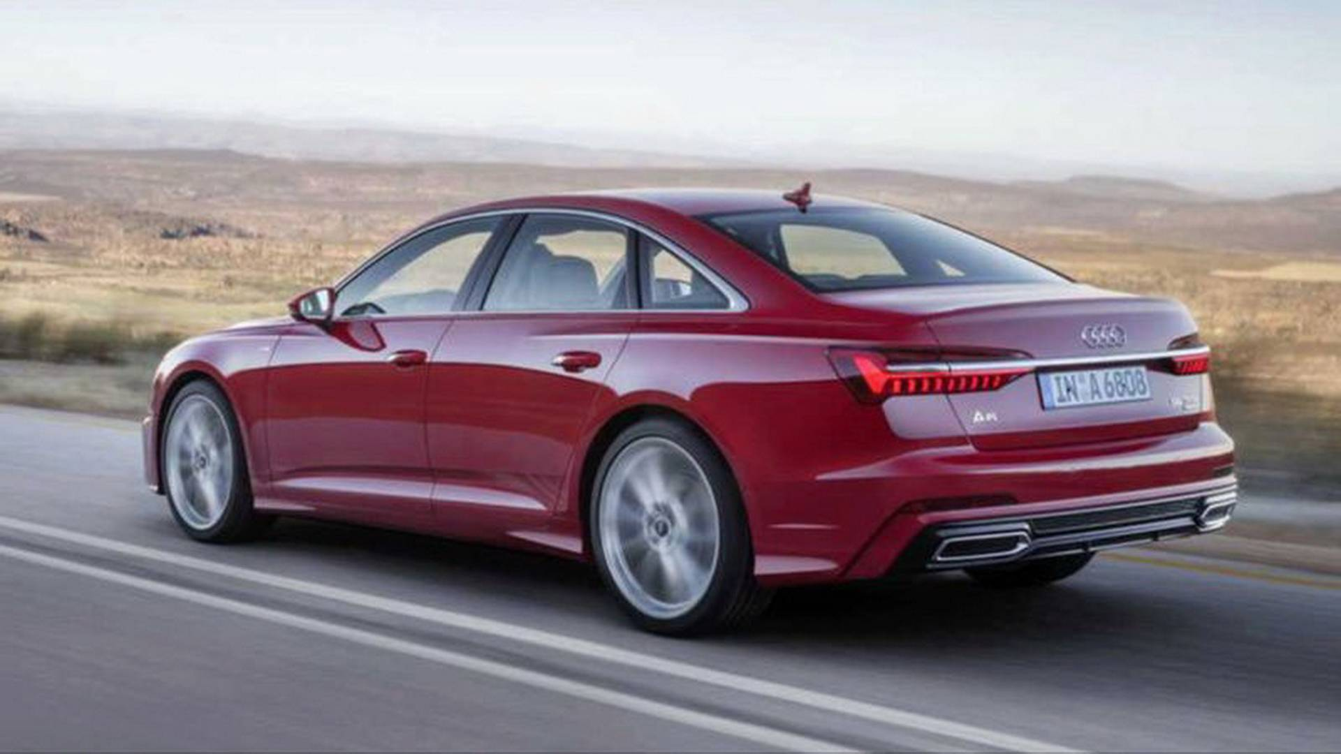 2019 Audi A6 Leaks Out In Alleged Official Images
