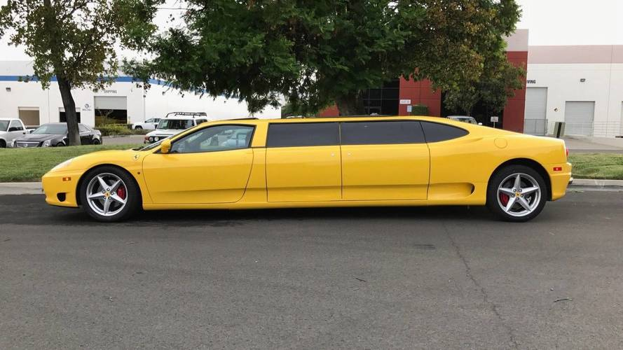 Ferrari 360 Limo Gets $104,400 Bid On eBay, But Fails To Sell
