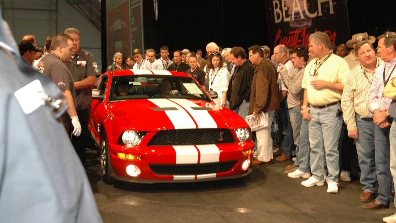 9. 2007 Shelby GT500 - $600,000