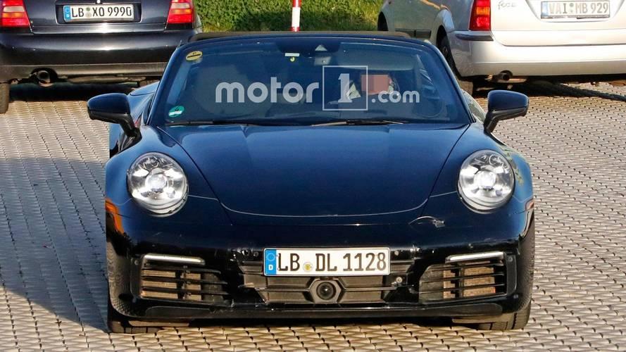 Next-Gen Porsche 911 Cabriolet Spy Photos