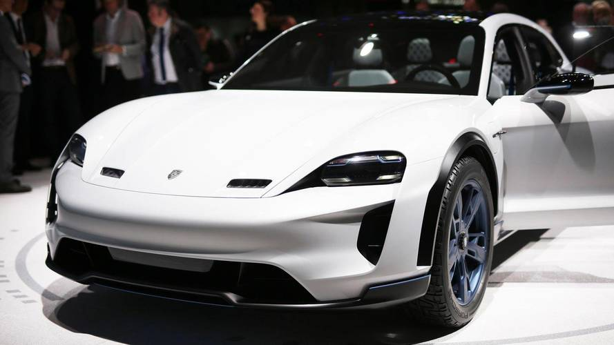 Genève 2018 - Porsche Mission E Cross Turismo
