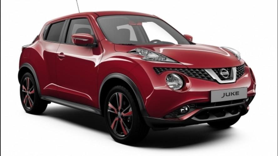 Nissan Juke Dynamic, la baby SUV si veste di rosso