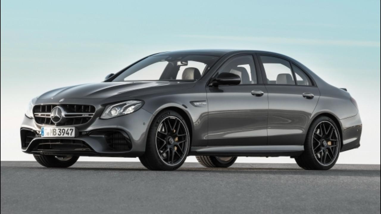 [Copertina] - Nuova Mercedes-AMG E 63, la biturbo integrale sale a 612 CV