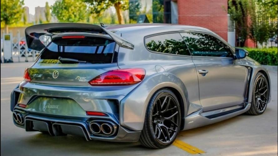 Volkswagen, una Scirocco... esagerata!