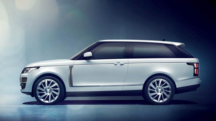 Gestanzt: Range Rover SV Coupé kommt nun doch nicht