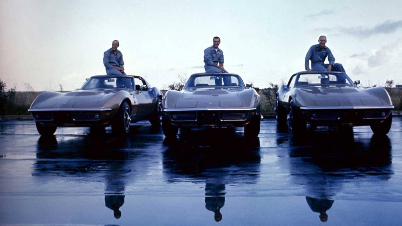 Menção Honrosa: Os Corvettes dos astronautas da Mercury