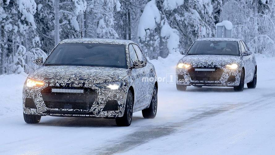 New Audi A1 Reveals LED Lights In Latest Spy Shots