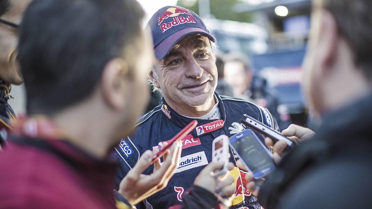 Carlos Sainz, en el Dakar 2018