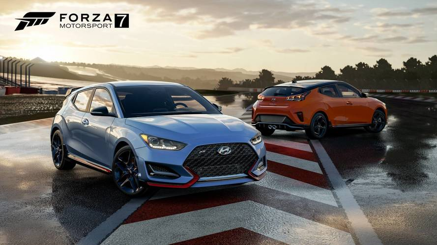 Drive The New Hyundai Veloster N In Forza 7