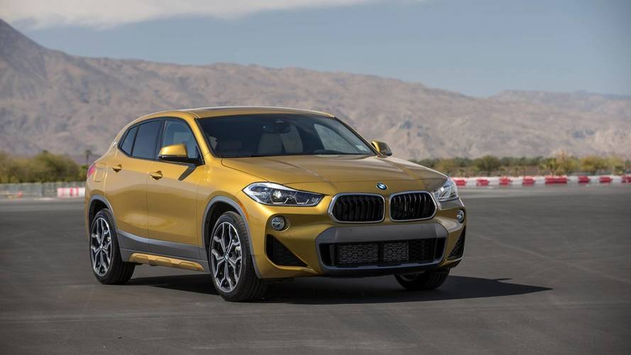 BMW Drops Gold Mic In Front Of Mercedes GLA In New X2 Ad
