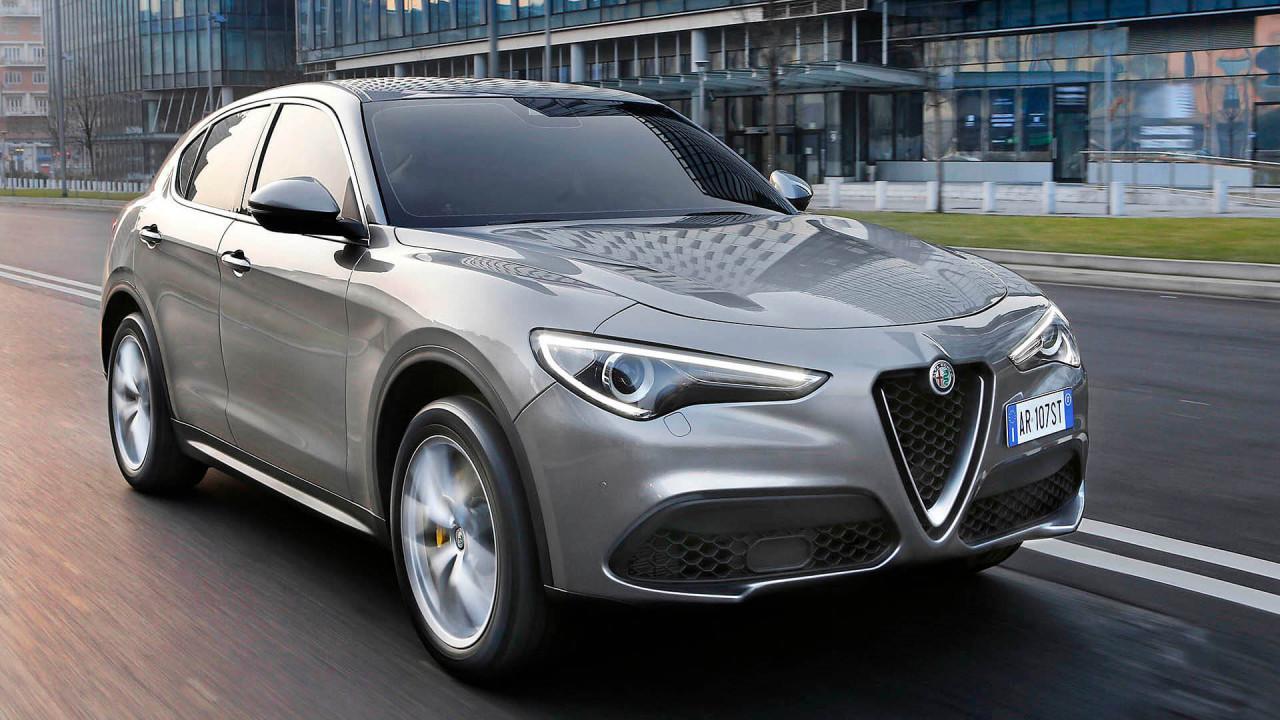 Platz 7: Alfa Romeo Stelvio (163 Punkte)