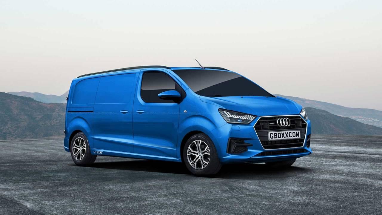 Audi Van quattro S-Line