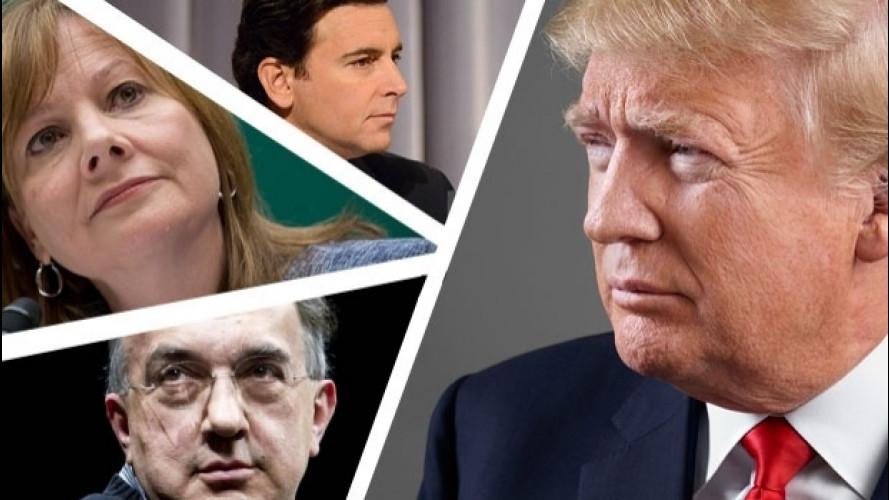 Trump è a colazione con FCA, Ford e GM