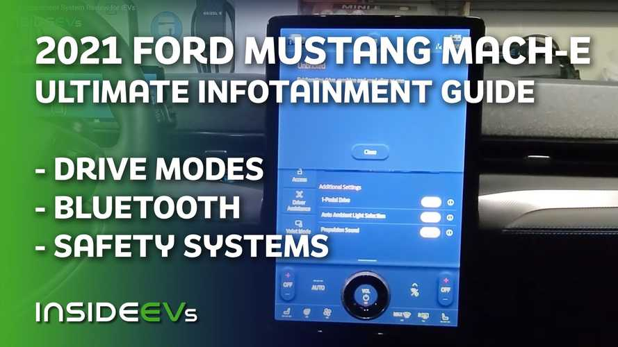 Watch Our 2021 Mustang Mach-E Ultimate Infotainment Guide