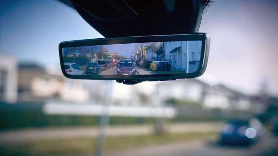 Innenspiegel mit Heckkamera für Ford Transit Custom und Transit