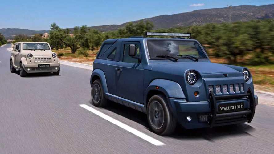 Wallys Iris, el coche tunecino de fibra de vidrio y 11.000 euros
