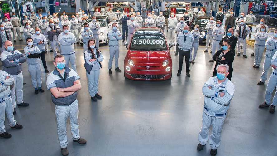Yeni Fiat 500 de üretim rekorlarına devam ediyor