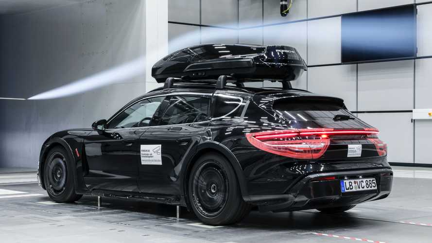 Porsche Tequipment Reveals Performance Roof Box Tested At Race Tracks