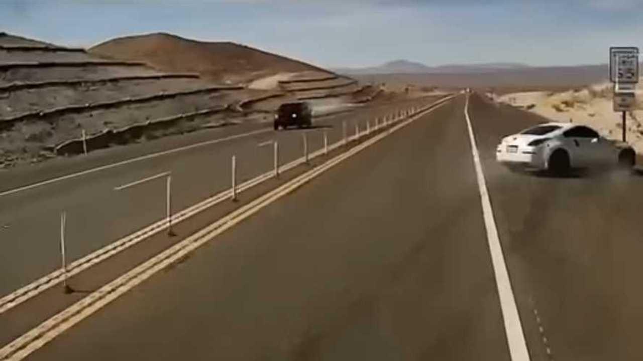 Nissan 350Z baleset