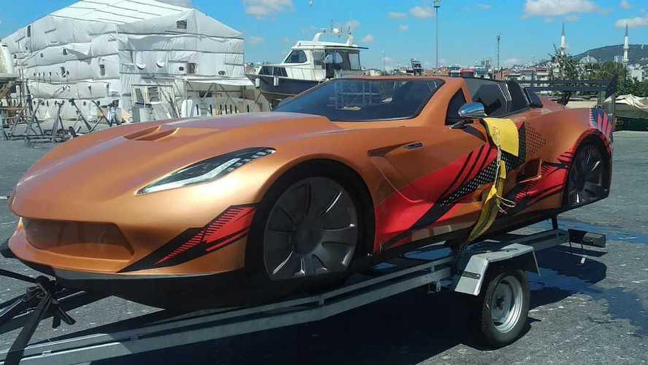 Corvette motorcsónak