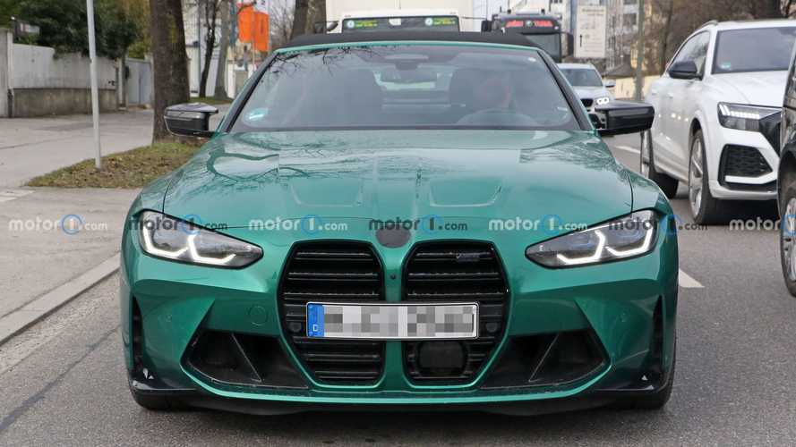 2022 BMW M4 Convertible new spy shots