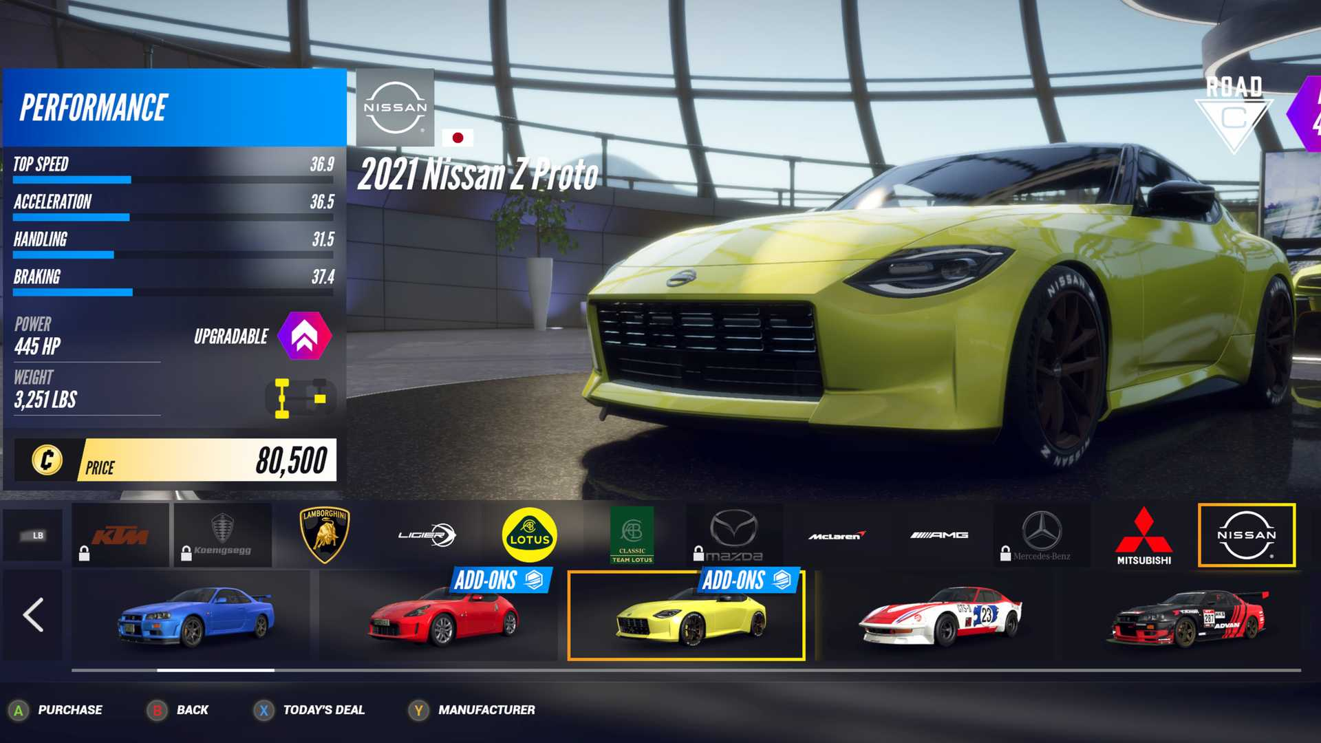 Nissan Z Proto Shows Up In Project Cars 3 With 445 Horsepower - Motor1