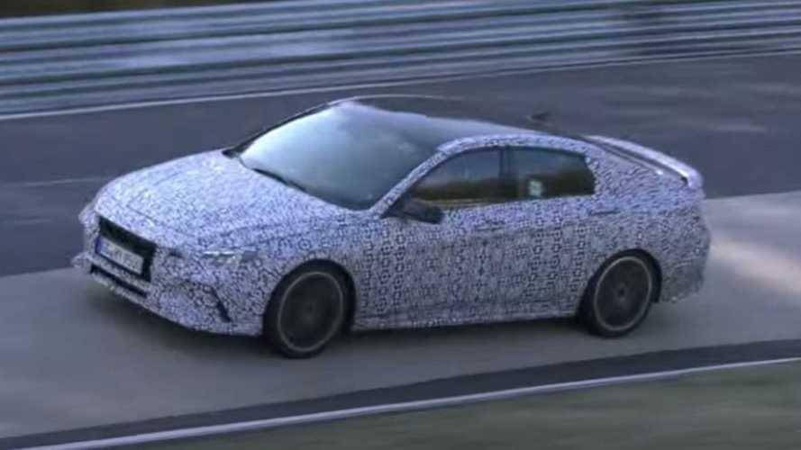 Hyundai Elantra N spied playing four-cylinder symphony at Nurburgring