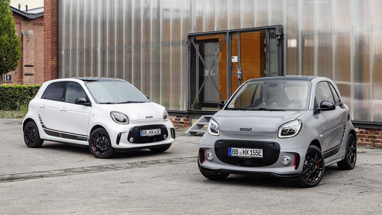 smart fortwo/forfour EQ