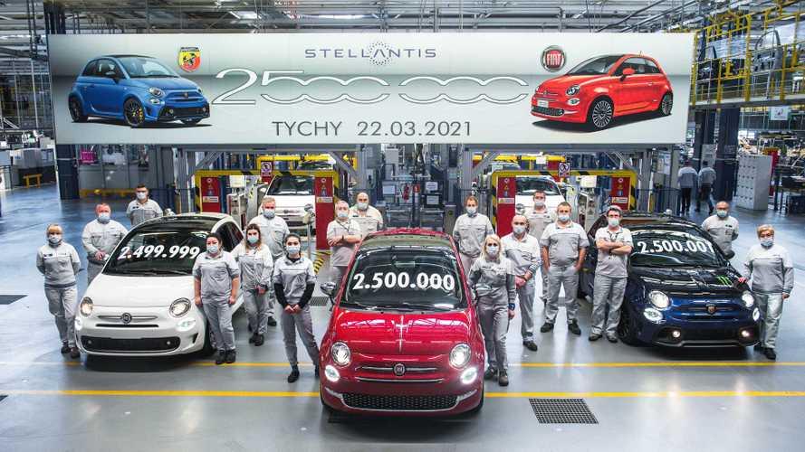 Prodotta oggi la Fiat 500 numero 2.500.000