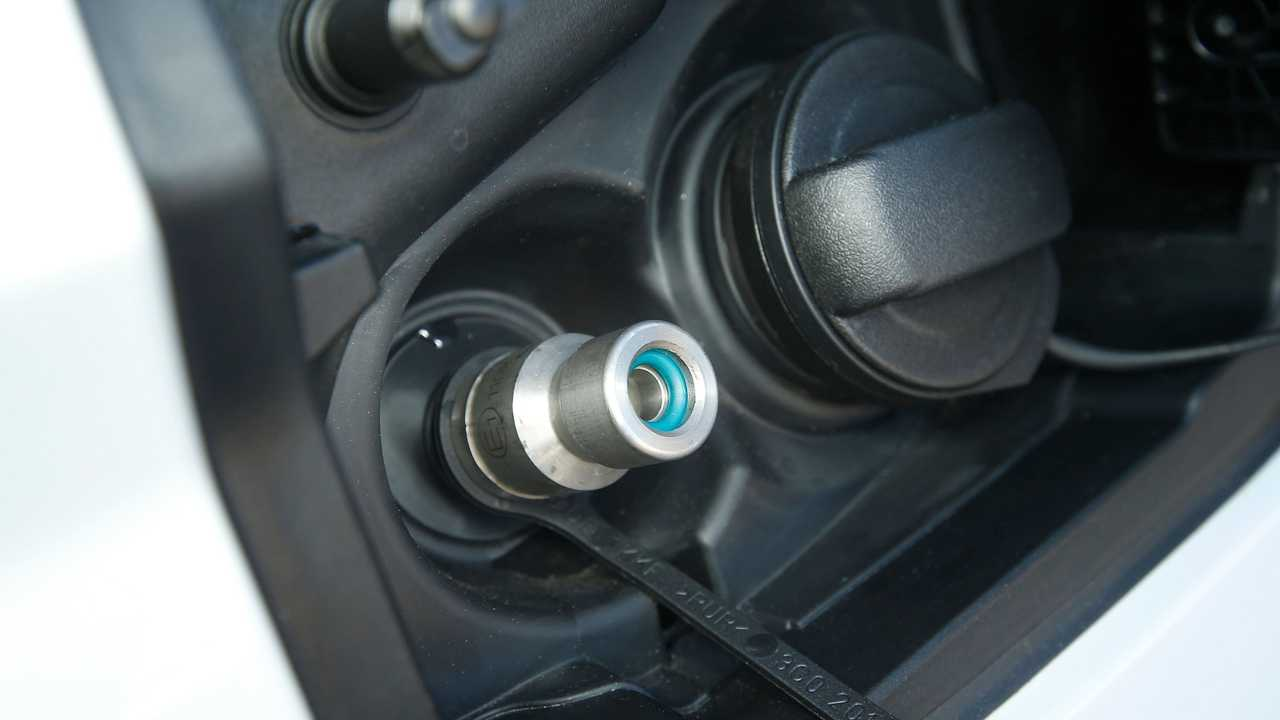 Bocchettone auto a metano
