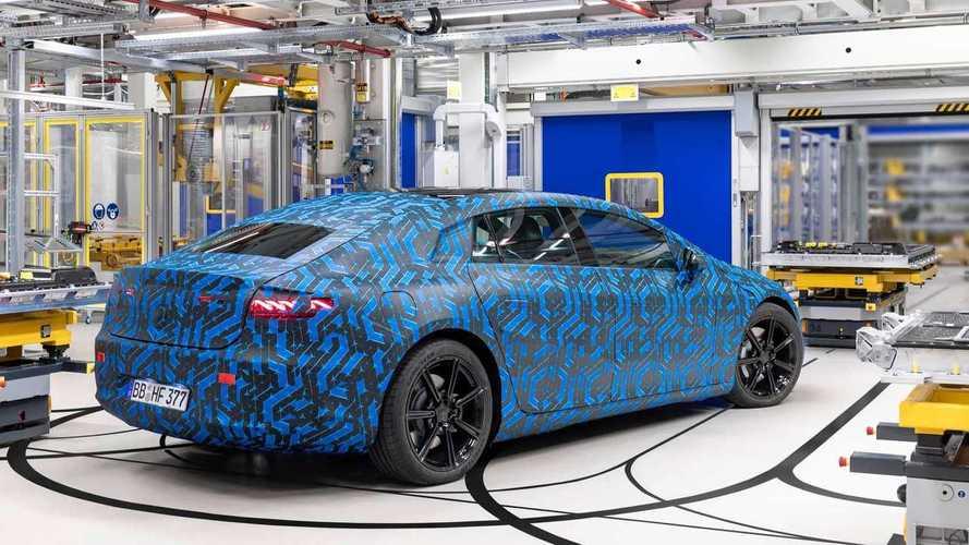 Mercedes EQS: Weltpremiere findet am 15. April 2021 statt