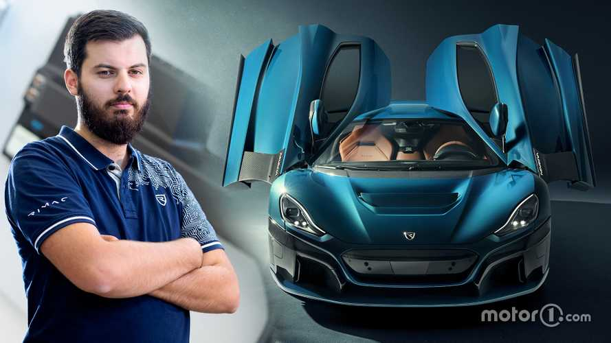Who is Mate Rimac, the 33-year-old inventor of electric hypercars?