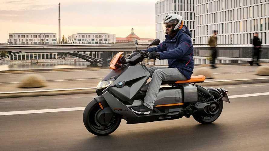 Scooter elétrico da BMW estreia na versão de produção; veja fotos