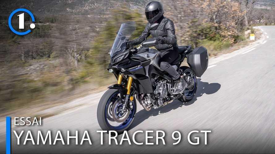 Essai Yamaha Tracer 9 GT (2021) - Championne de la polyvalence ?