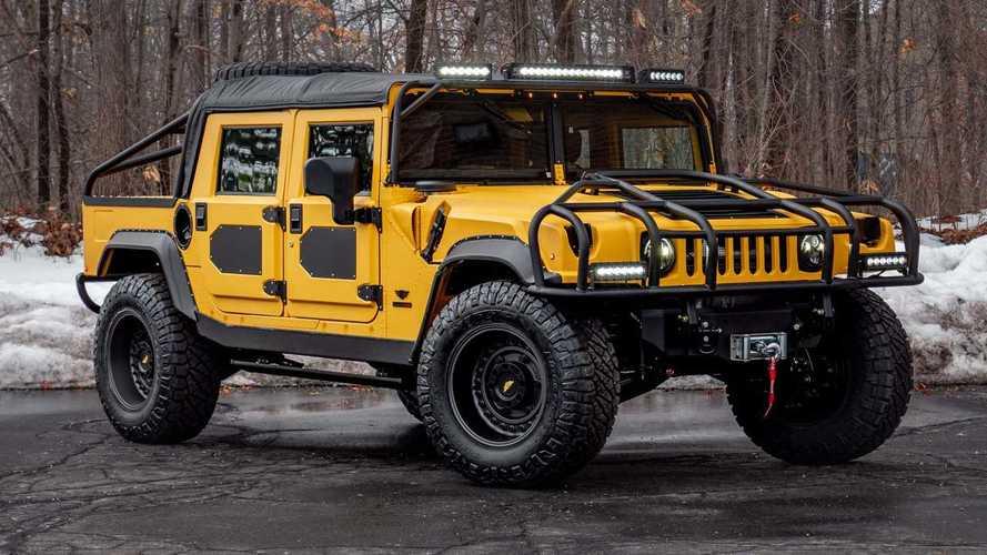 Mil-Spec Automotive M1-R: lujo y potencia para el clásico Hummer H1