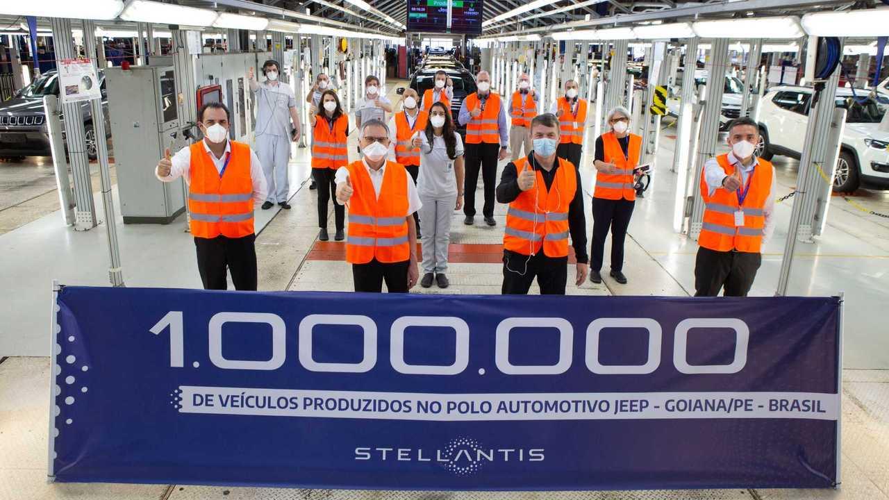 Fábrica Goiana - 1 milhão de veículos