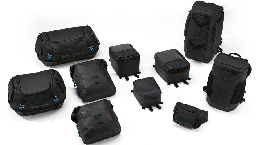 BMW Motorrad Introduces Black Collection Soft Bike Luggage