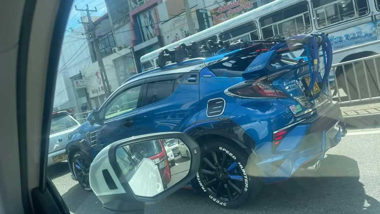 Toyota C-HR tuning fail