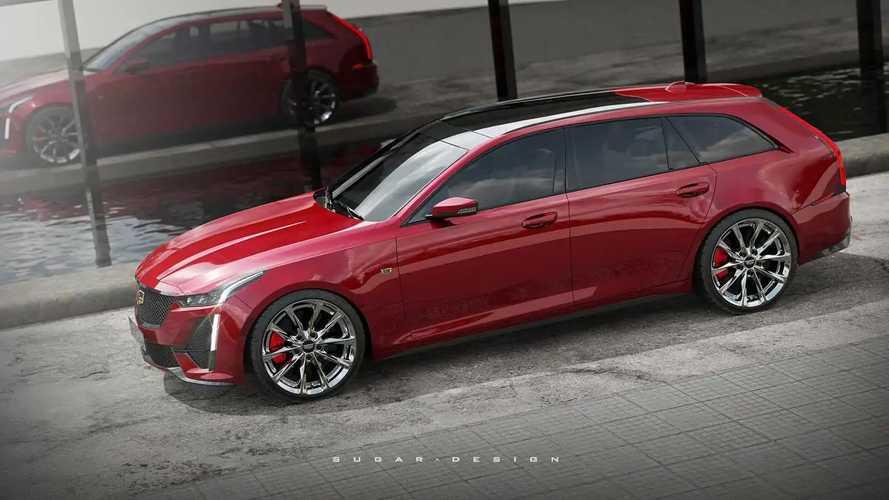 Cadillac CT5 Sport Wagon renderings