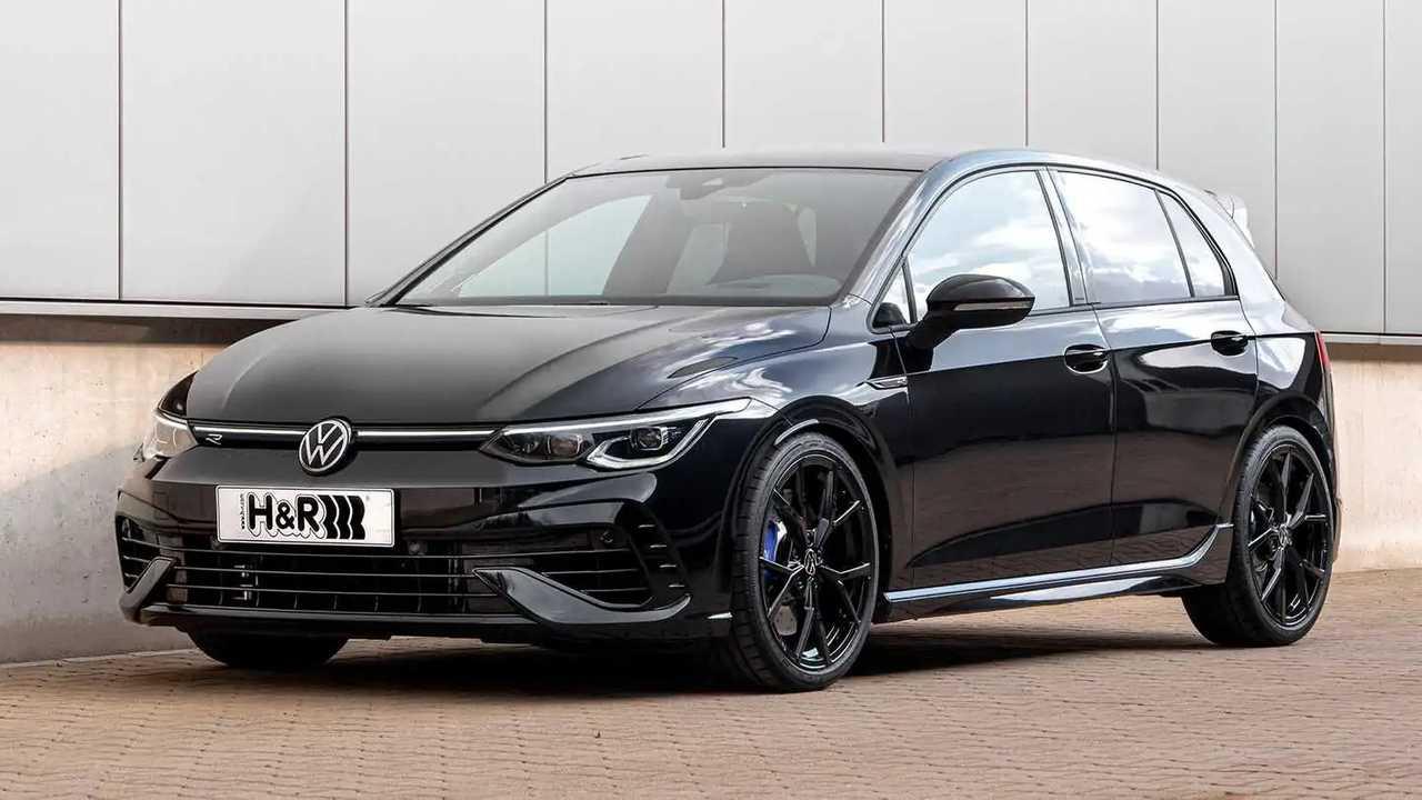 H&R aus Lennestadt hat den VW Golf R tiefer gelegt