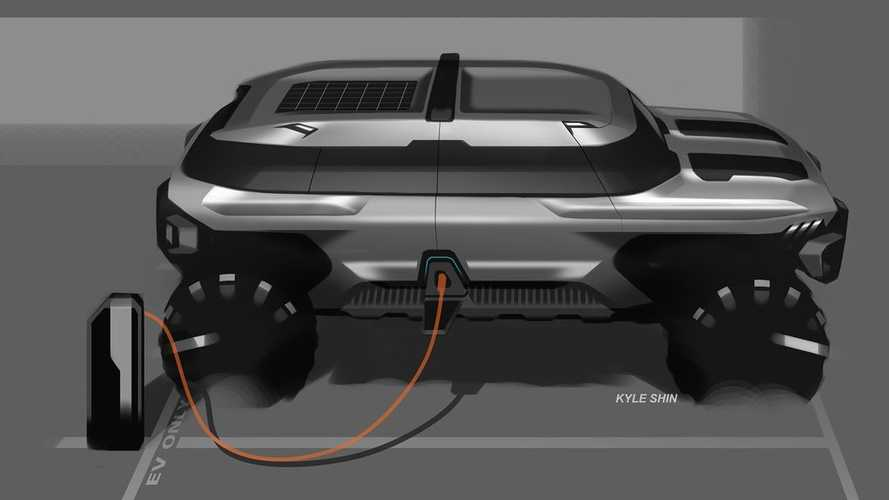 GM Design Shows Off Rendering For EV Off-Roader