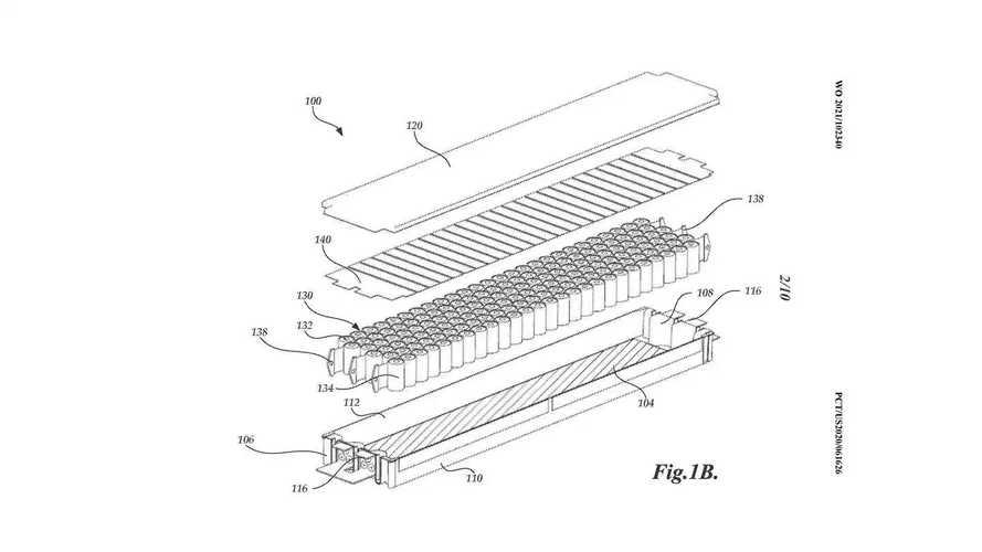 Tesla: i brevetti per le batterie strutturali
