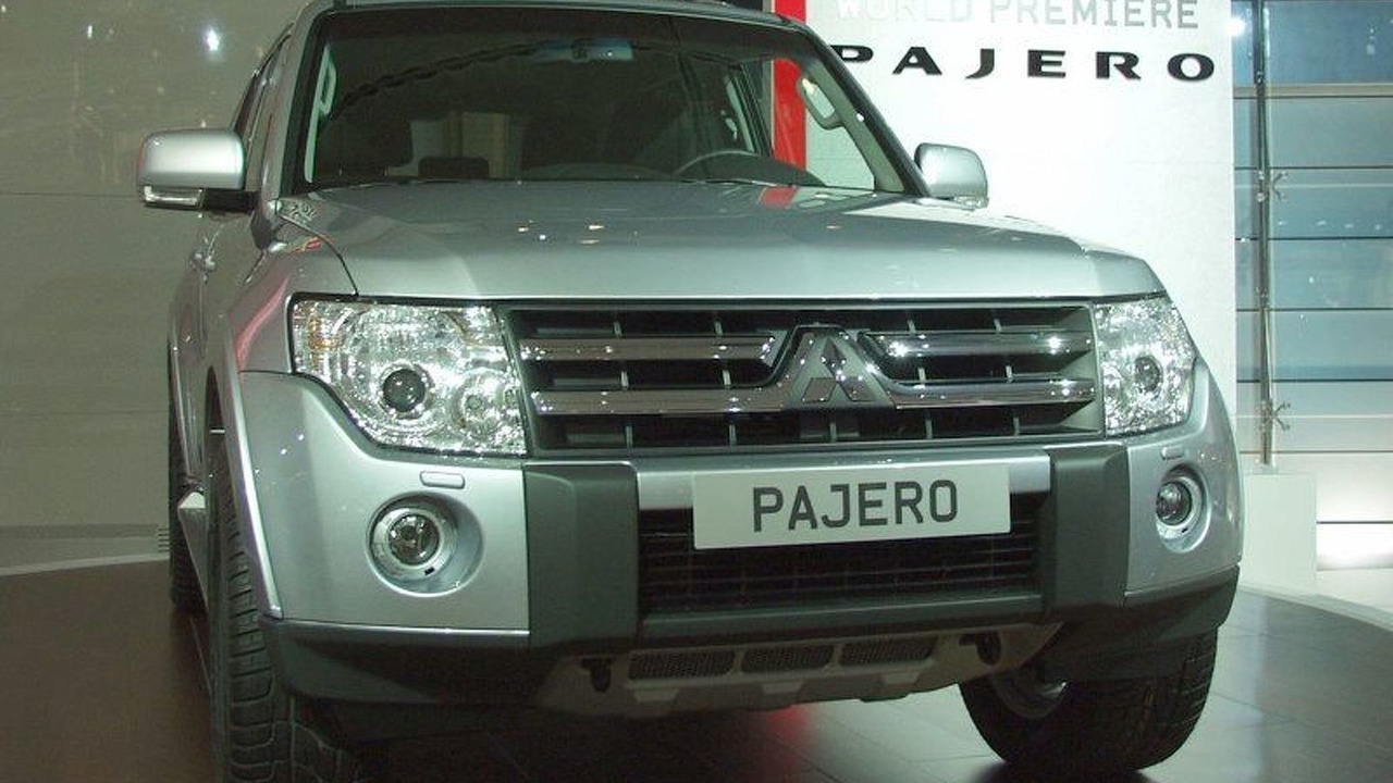 New Mitsubishi Pajero at Paris