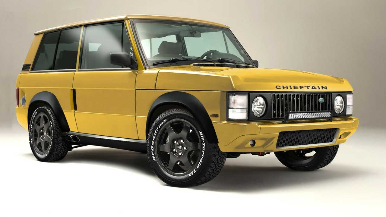 Chieftain Xtreme Land Rover Range Rover anteriore tre quarti