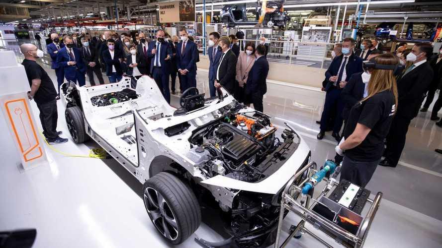 Grupo Volkswagen terá plataforma única para todos os carros elétricos